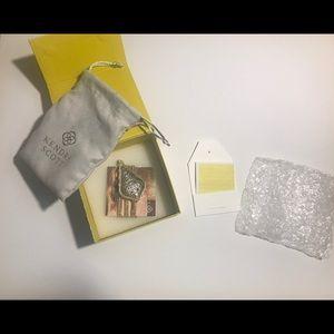 Kendra Scott Jewelry - Aiden Gild Long Pendant Nicklas Gold-Rodium Mix